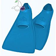 Ласты для бассейна резиновые детские размеры 23-24 синие ПРОПЕРКЭРРИ (ProperCarry)