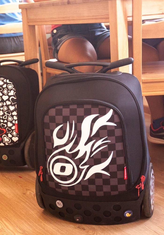 Рюкзак на колесиках Roller Nikidom White Fire XL арт. 9319 (27 литров), - фото 19